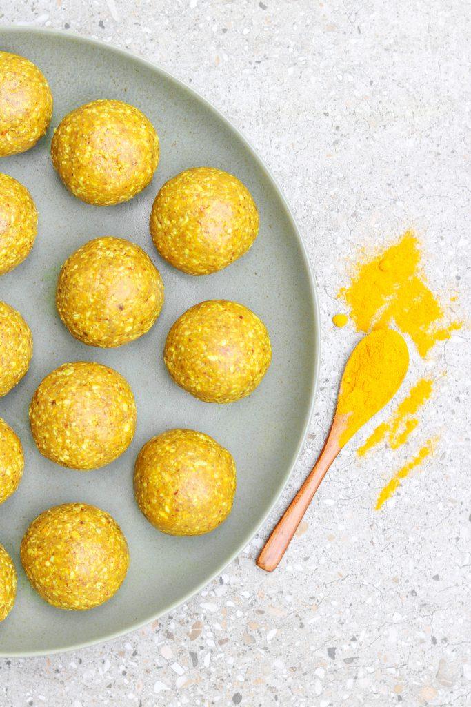 Turmeric Protein Balls