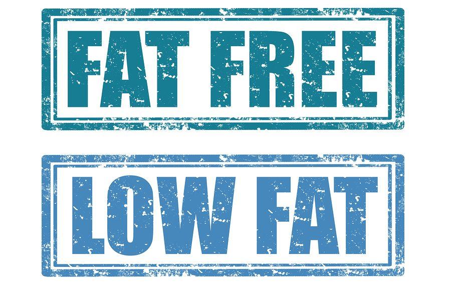 fat free low fat
